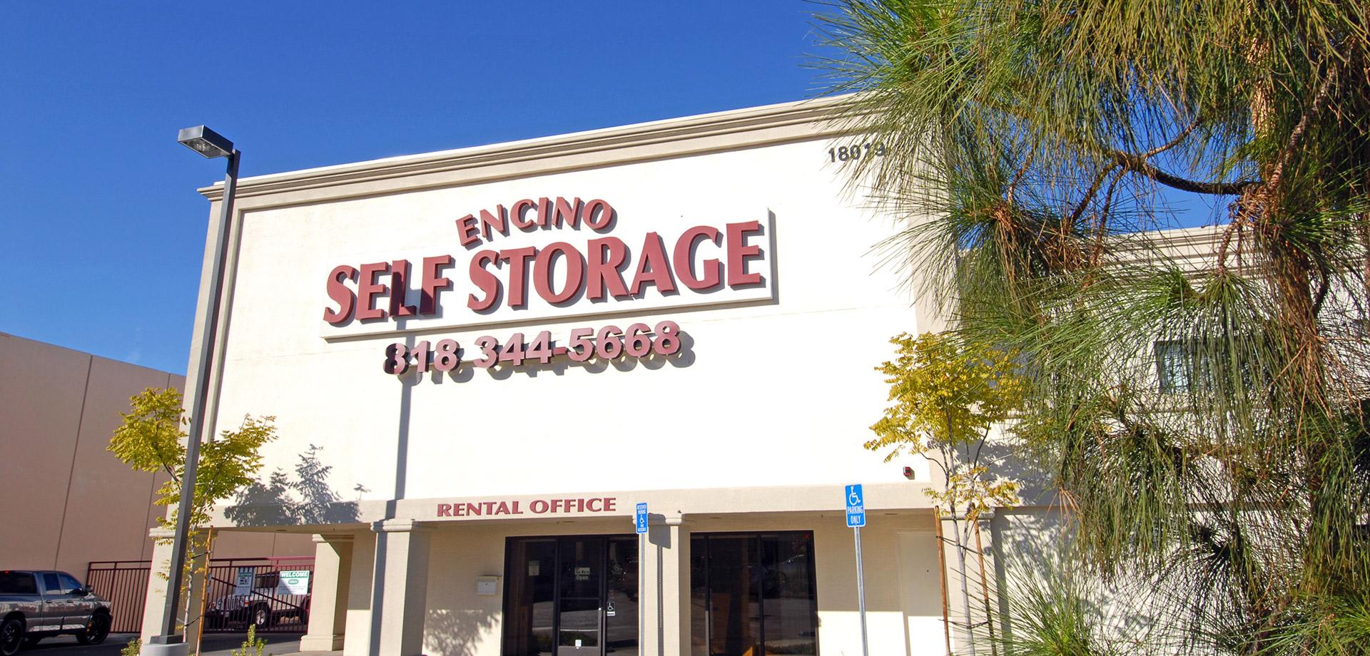 Encino Self Storage Self Storage In Encino Ca
